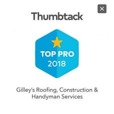 Avatar for Gilleys Roofing & Construction & Handyman Shawnee, OK Thumbtack