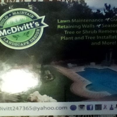 Avatar for McDivitts Landscape Design & asphalt services