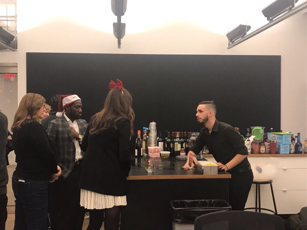 Bartending - New York Office Party
