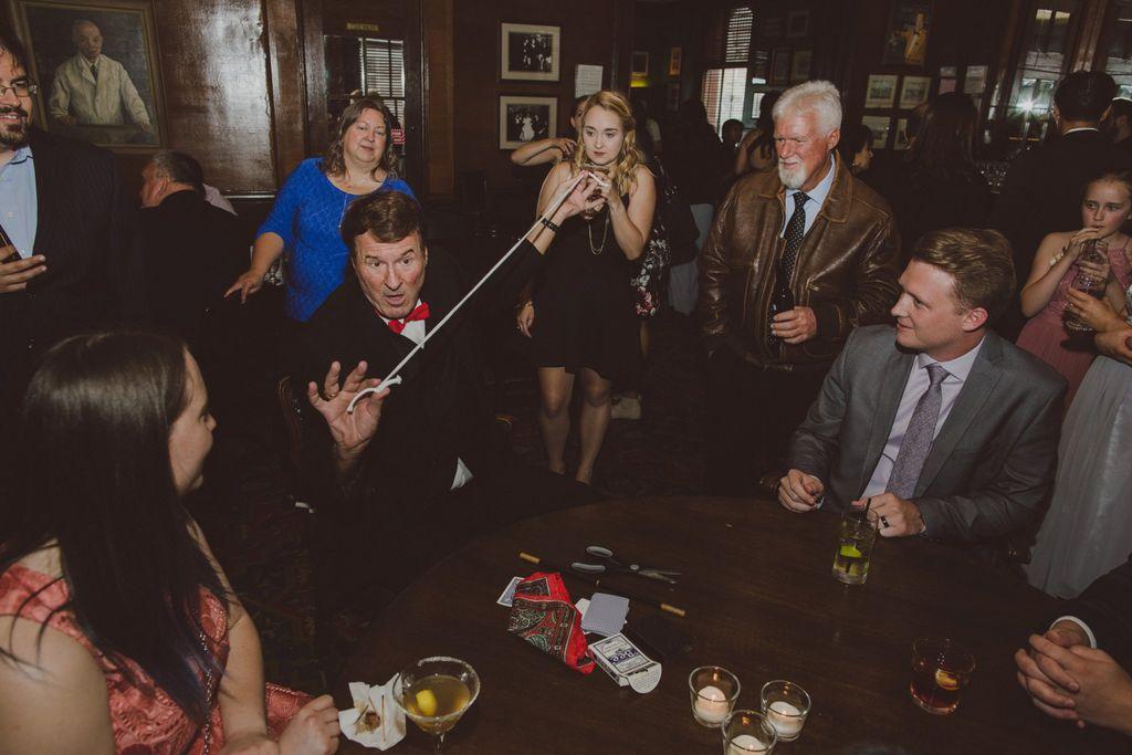 Magician - Wedding Reception