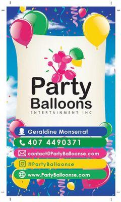 Avatar for Party Balloons Entertainment INC Tampa, FL Thumbtack