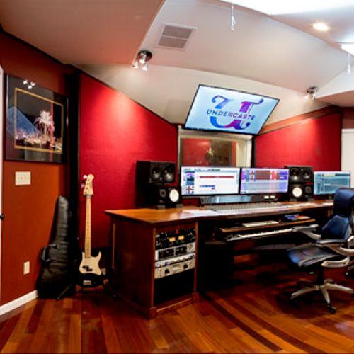 Underaste Studios Studio A Control Room