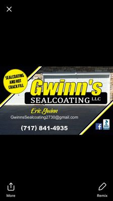 Avatar for Gwinn's sealcoating LLC