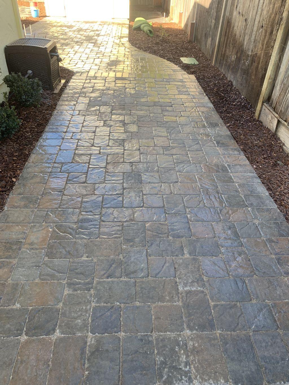 Complete back yard installation