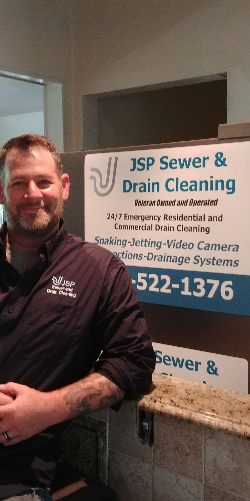 JSP Sewer & Drain Cleaning