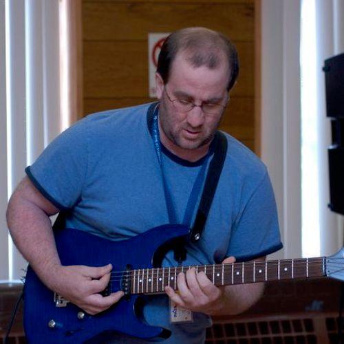 Teaching at Rock Camp
