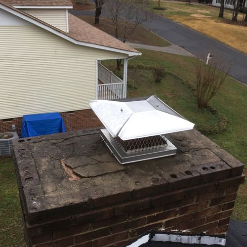 When was the last time you looked at your chimney cap?
