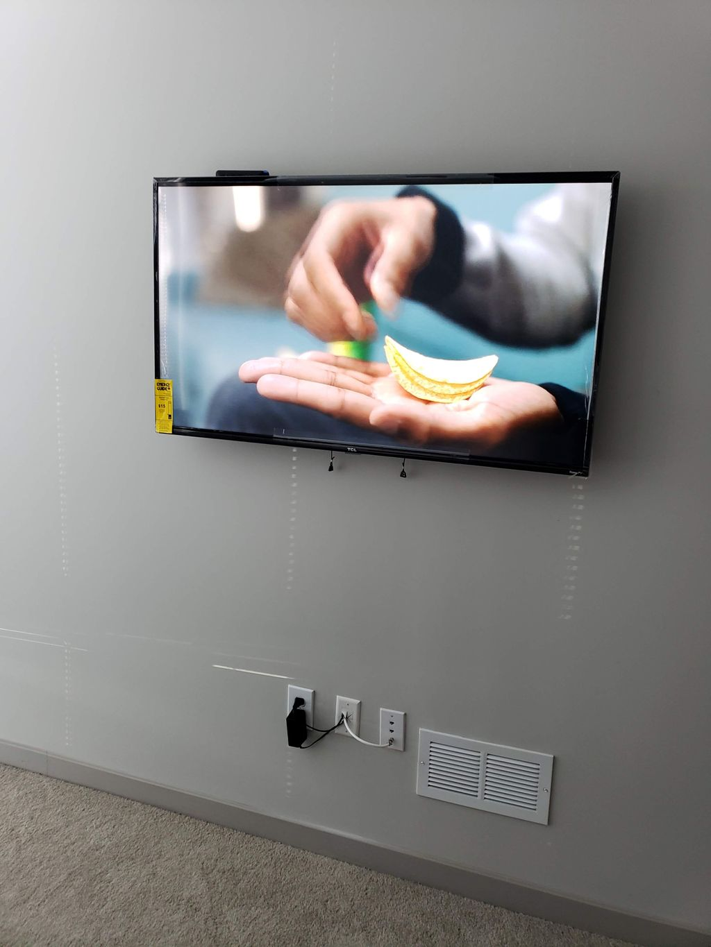 TV Wall Mounting, In-wall Cable Management
