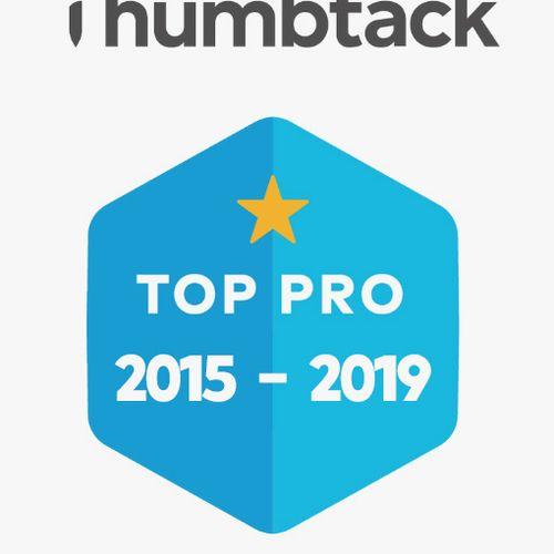 Thumbtack Top Pro 2015-2019