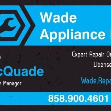 Avatar for Wade Appliance Repair Vista, CA Thumbtack