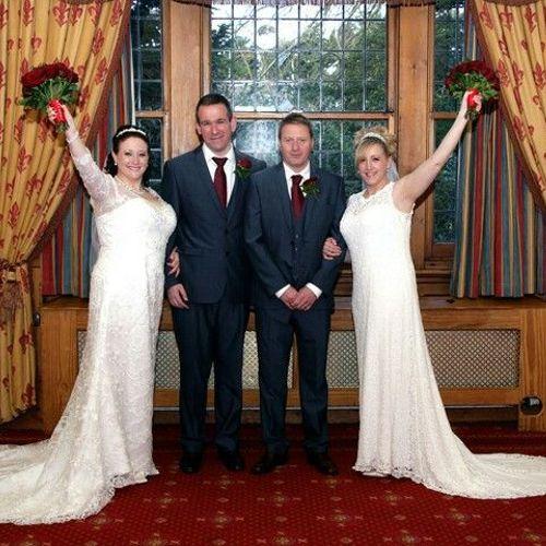Double wedding!