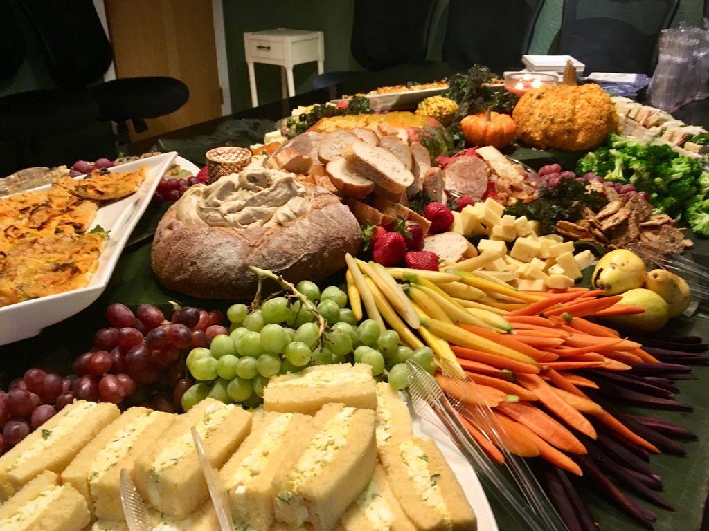 Fall edible table