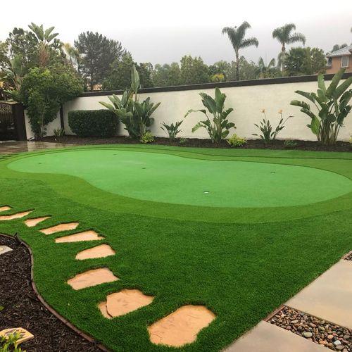 Putting Green in Rancho del Rey