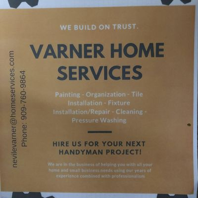 Avatar for VARNER HOME SERVICES Chino, CA Thumbtack