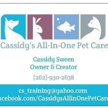 Cassidy's All-In-One Pet Care