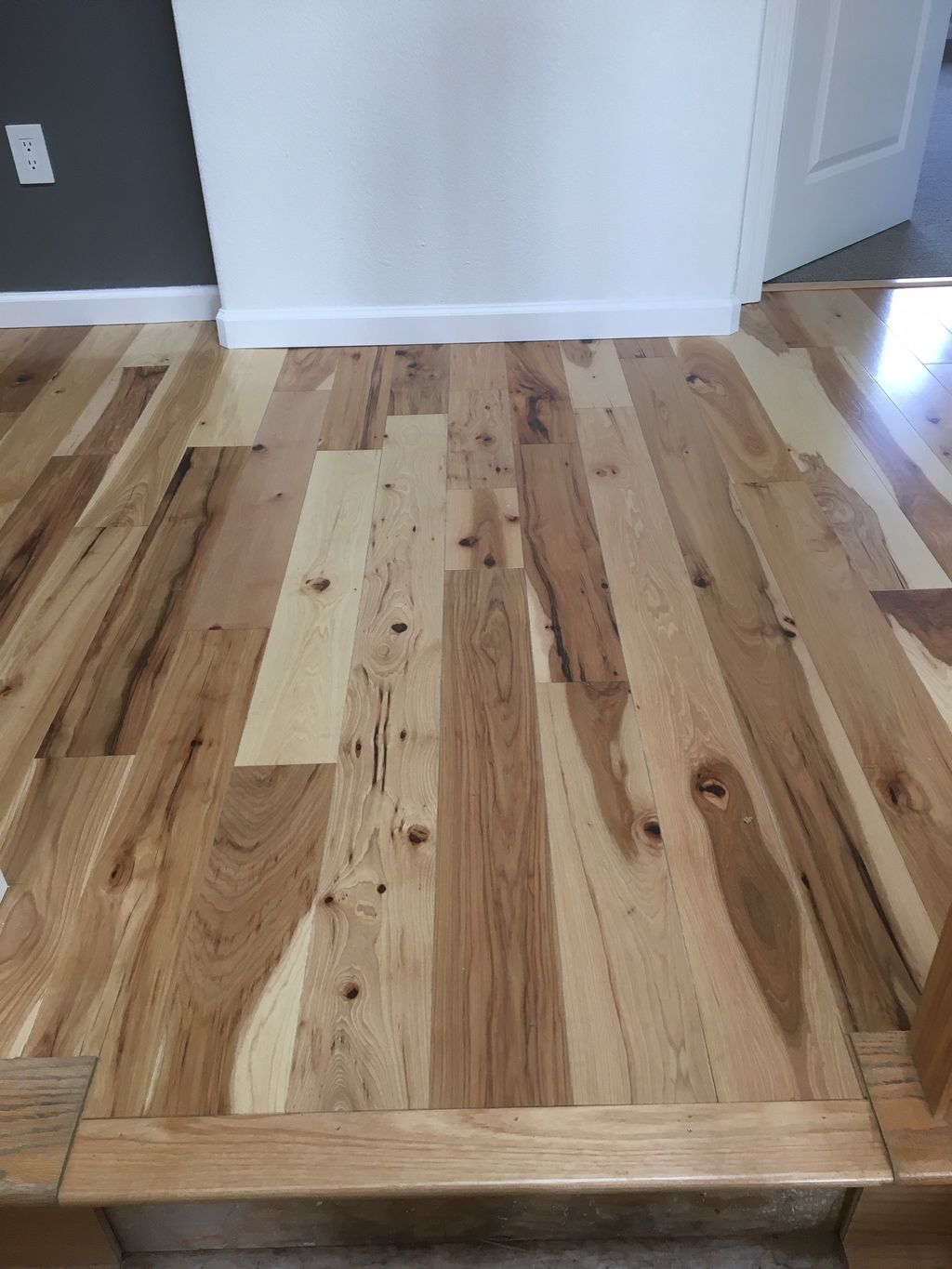 Hickory engineering flooring installation