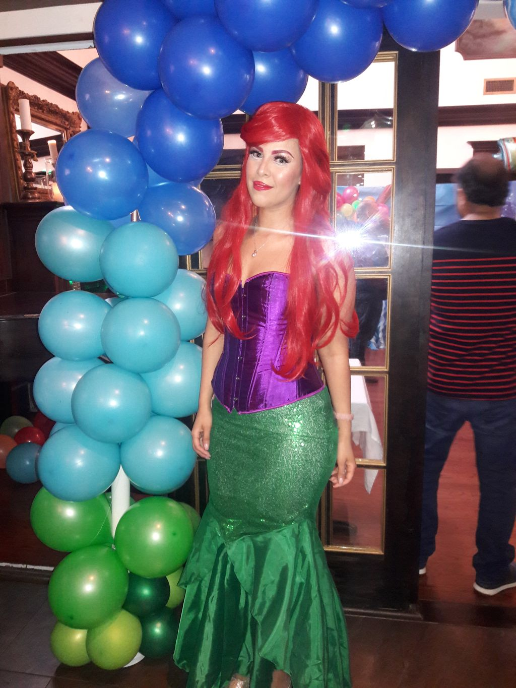 Under the Sea balloon, desserts, characters, face paint &more