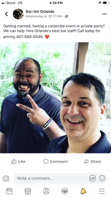Avatar for Bar-tini Orlando  Professional Event Bar Staff