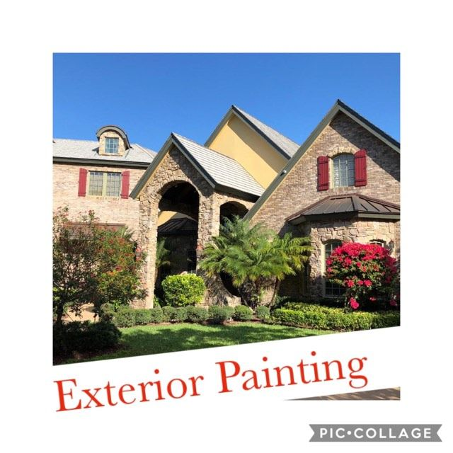 Exterior Painting, Sealing and roof cleaning,