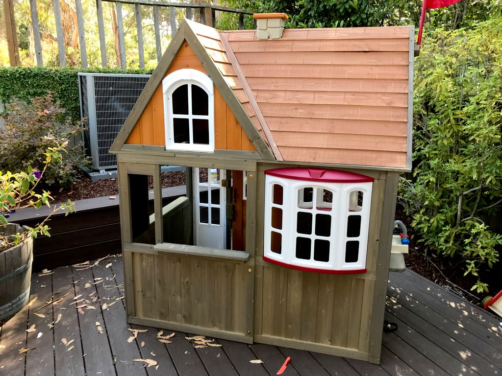 Play house for baby girl