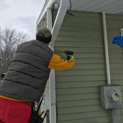Gutter and Gutter protection