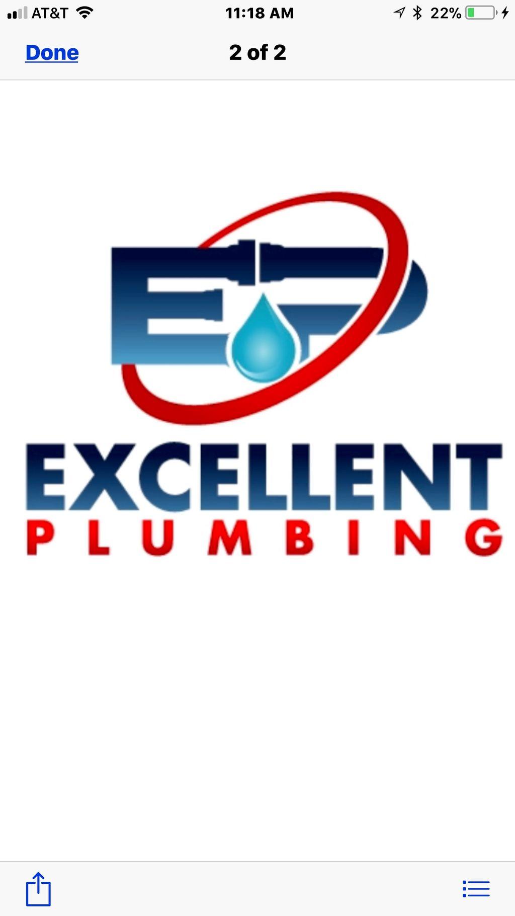 Excellent plumbing inc.