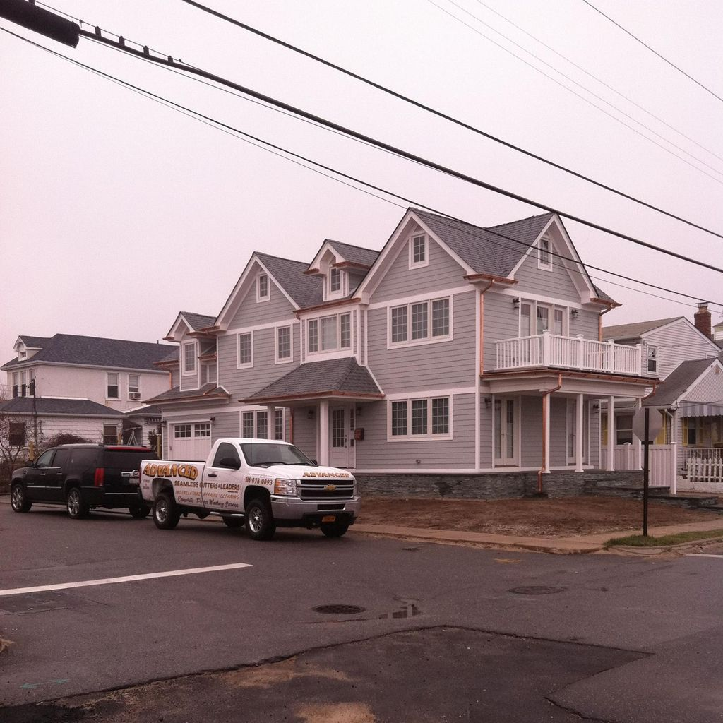 Advanced seamless gutters and leaders inc
