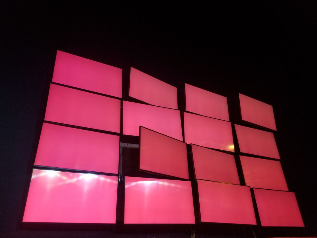 16 monitor video board
