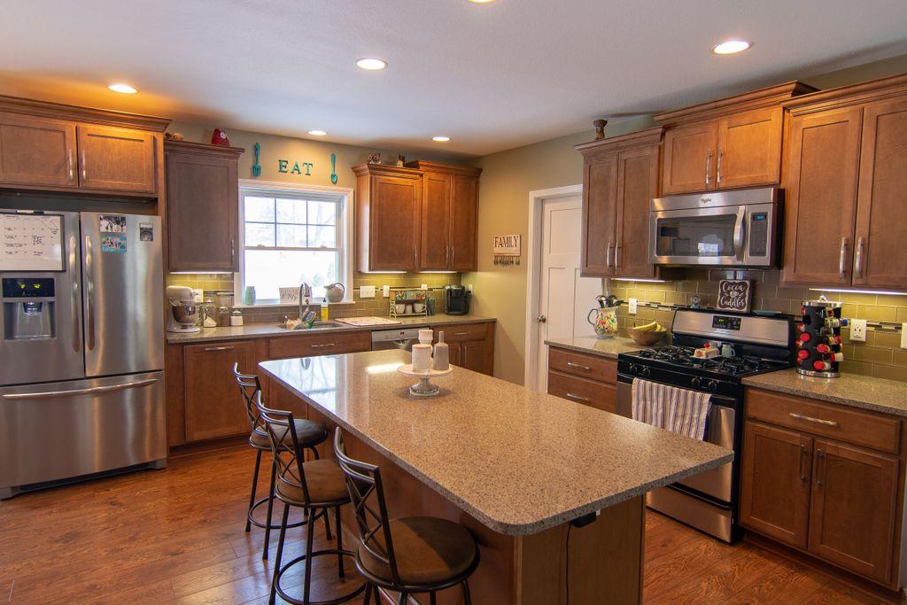 Rustic Kitchen Repaint