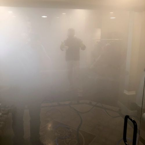A Tech in the Fog