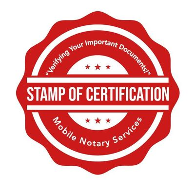 Avatar for Stamp Of Certification Mobile Notary Services Cypress, TX Thumbtack