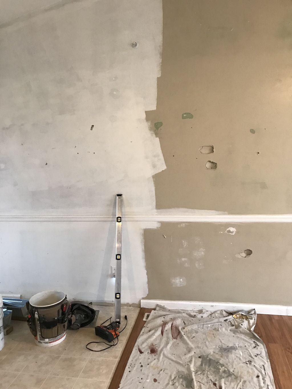 Dry wall repair paint