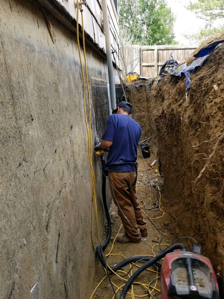 Exterior Waterproofing in Denver