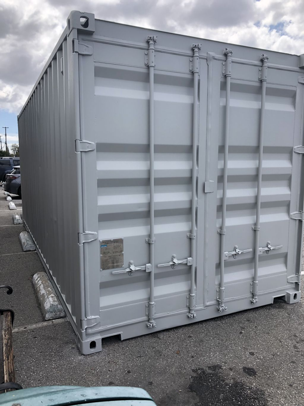 Hospital container