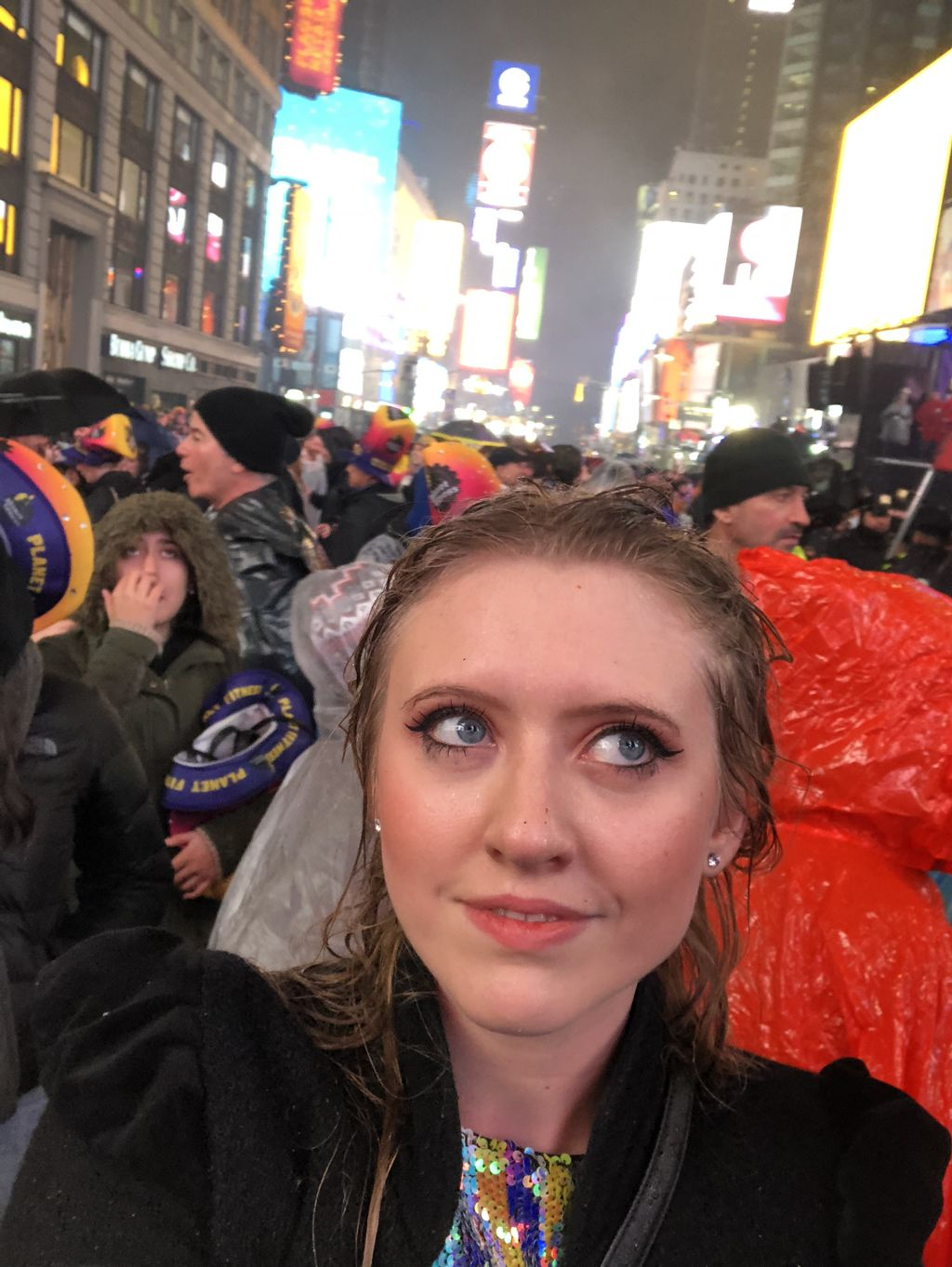 Performing in Times Square on New Years Eve