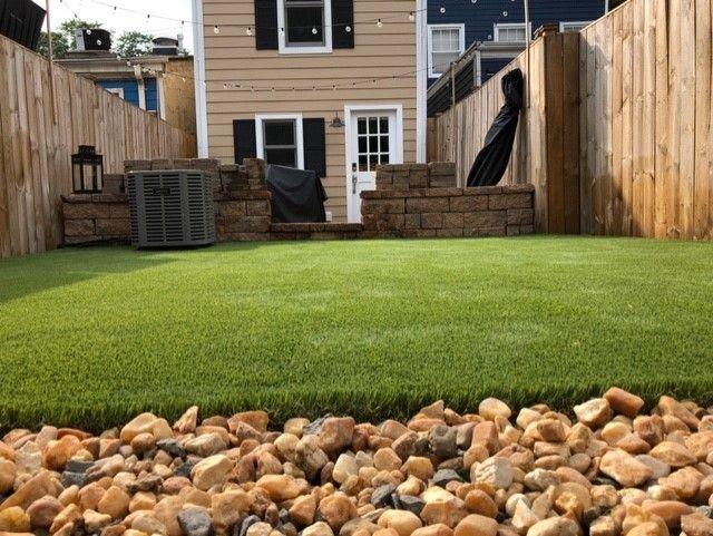 Backyard Turf Project
