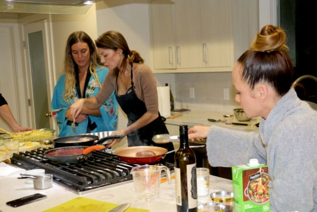 Valentine's Day Cooking Class for 10