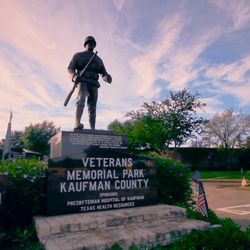 Still from Veterans Memorial Tribute