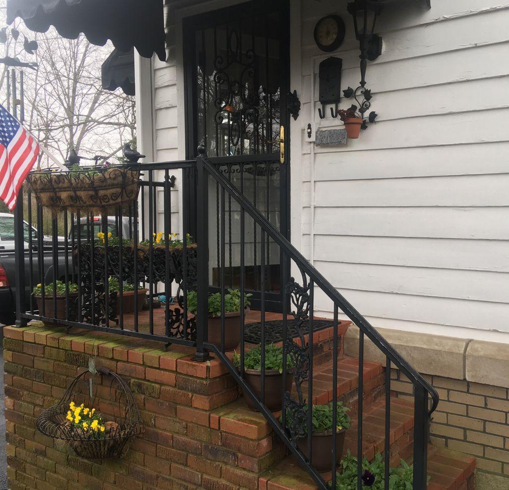 Porch Door and Railing