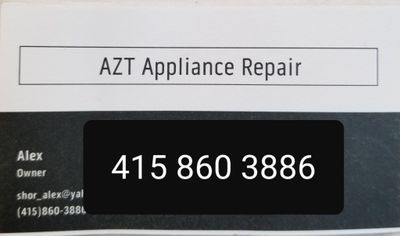 Avatar for AZT Appliance Repair San Bruno, CA Thumbtack