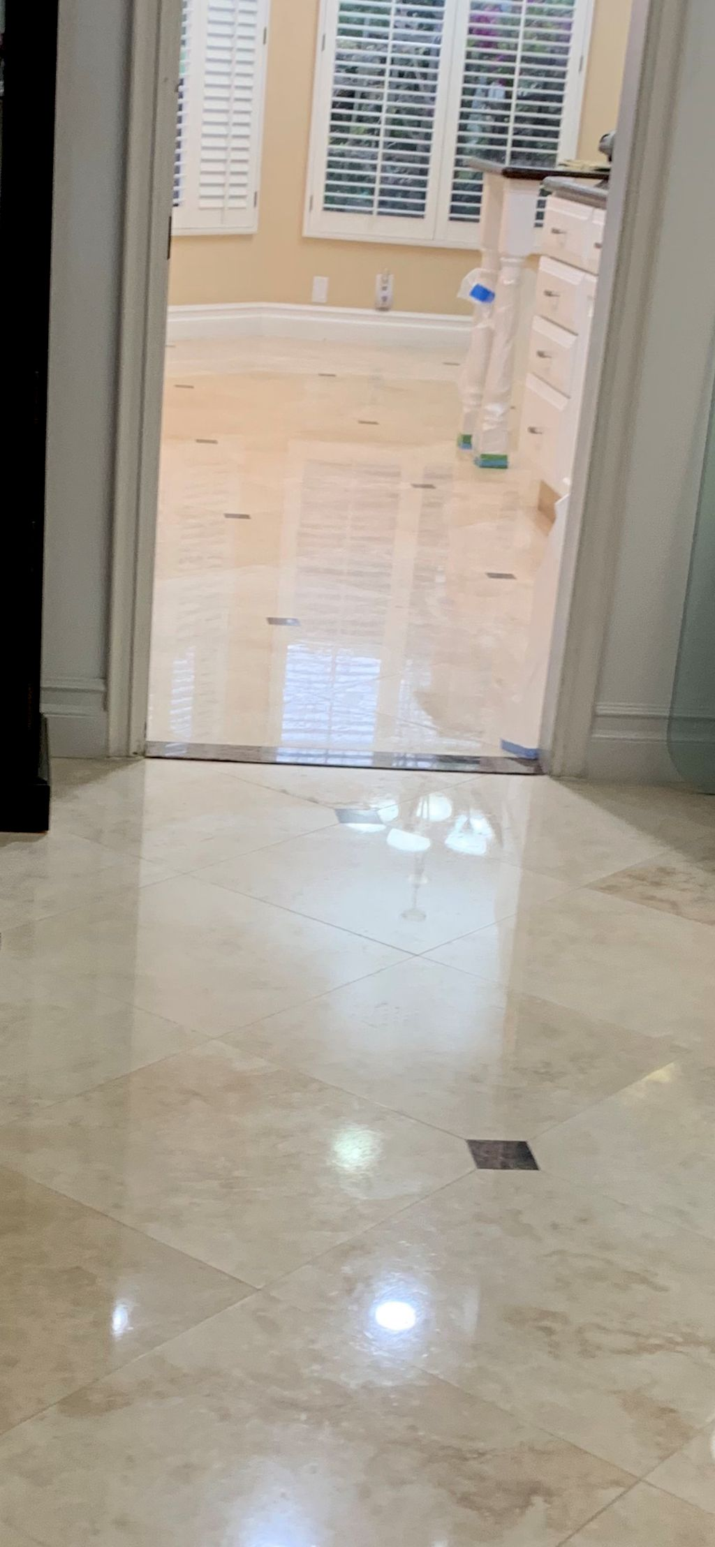 Stone Restoration, Tile and grout cleaning/sealing
