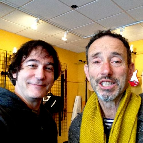 With Johnathan Richman