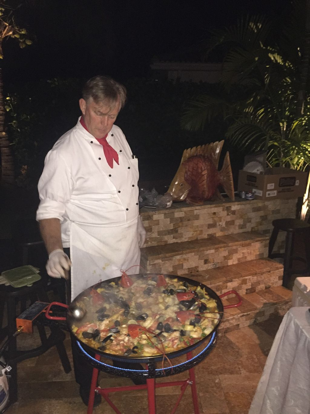 Paella Night for 40 guests