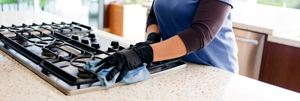 A house cleaner in Lindenwold, NJ
