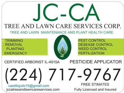 Avatar for JC-CA Tree And Lawn Care Services Corporation Waukegan, IL Thumbtack