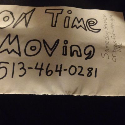 Avatar for On Time Moving Middletown, OH Thumbtack