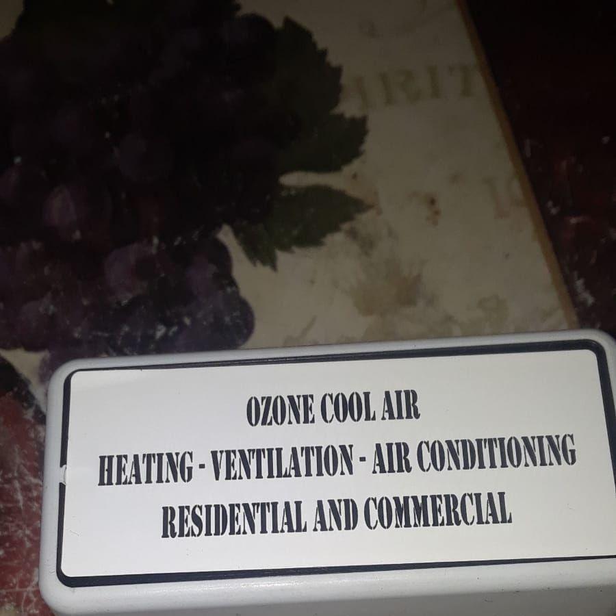 Ozone cool air