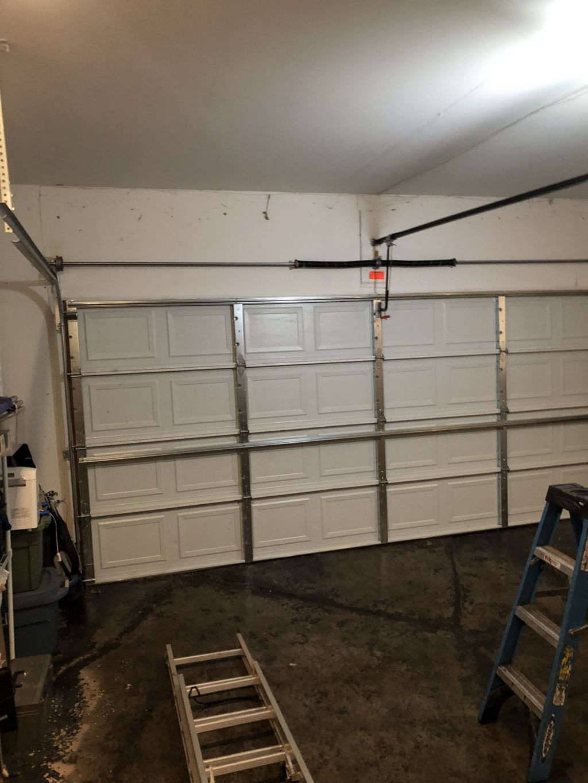 New door install