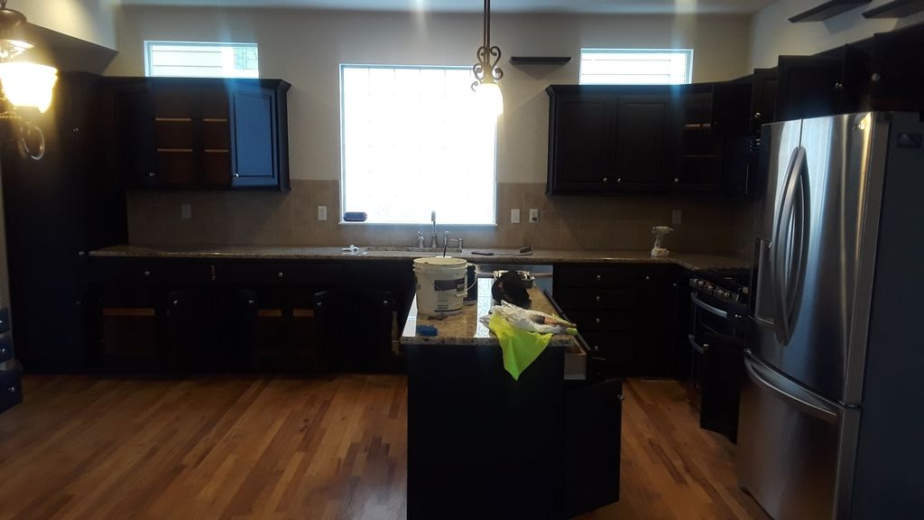 Cabinets,kitchen ,hand reallings and interior