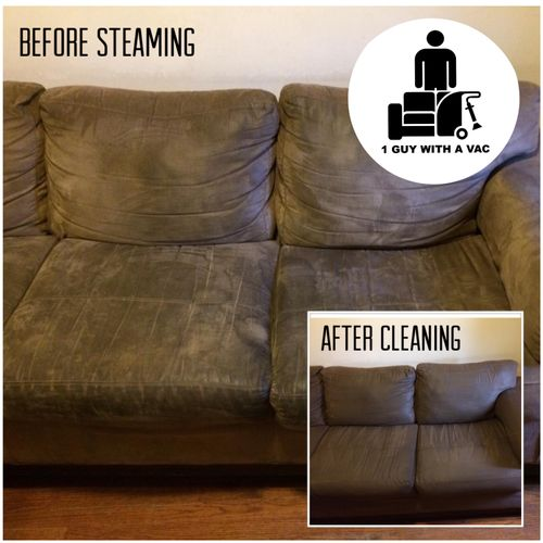 NYC Couch Upholstery Fabric Steam Cleaning and Restoration